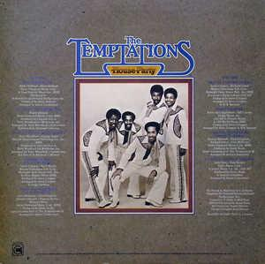 Back Cover Album The Temptations - House Party