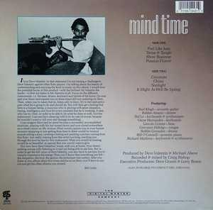 Back Cover Album Dave Valentin - Mind Time