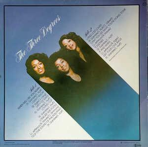 Back Cover Album The Three Degrees - The Three Degrees [Compilation]
