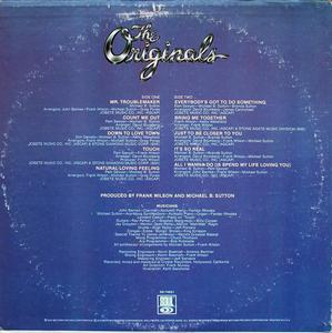 Back Cover Album The Originals - Communiqué