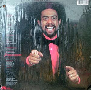 Back Cover Album Vernon Burch - Playing Hard To Get