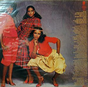 Back Cover Album The Jones Girls - Get As Much Love As You Can