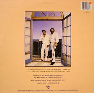 Back Cover Album The Isley Brothers - Smooth Sailin'