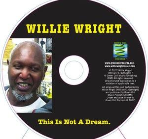 Back Cover Album Willie Wright - This Is Not A Dream