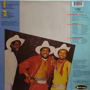 Back Cover Album The Gap Band - The Gap Band 8