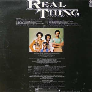 Back Cover Album The Real Thing - The Real Thing