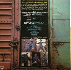 The Trammps - The Legendary Zing Album - Back Cover