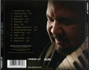 Back Cover Album George Duke - Dukey Treats