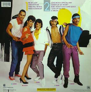 Back Cover Album Debarge - In A Special Way