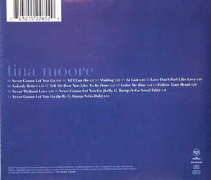 Back Cover Album Tina Moore - Tina Moore