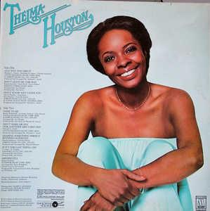Back Cover Album Thelma Houston - Any Way You Like It