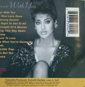Back Cover Album Phyllis Hyman - Forever With You