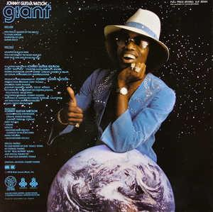 Back Cover Album Johnny Guitar Watson - Giant