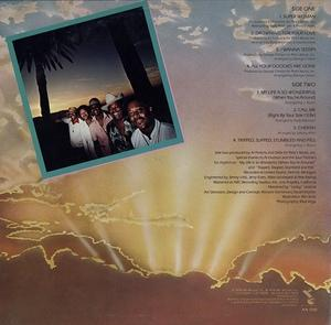 Back Cover Album The Dells - New Beginnings
