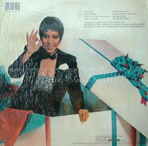 Back Cover Album Aretha Franklin - Jump To It