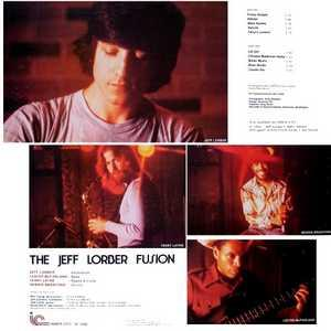 Back Cover Album Jeff Lorber - The Jeff Lorber Fusion