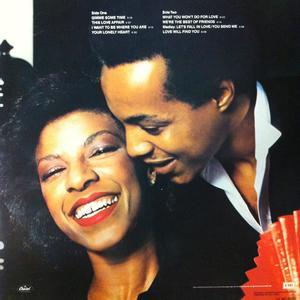 Back Cover Album Natalie Cole & Peabo Bryson - We're The Best Friends