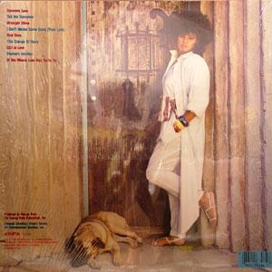 Back Cover Album Angela Bofill - Tell Me Tomorrow