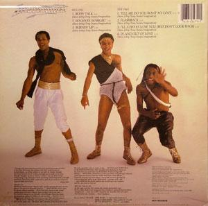 Back Cover Album Imagination - Body Talk