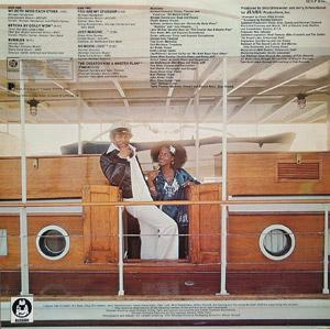 Back Cover Album Norman Connors - You Are My Starship