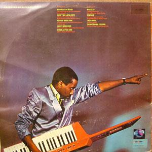 Back Cover Album Greg Phillinganes - Pulse
