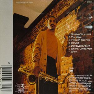 Back Cover Album Kirk Whalum - And You Know That