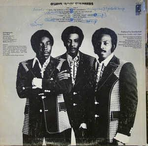 Back Cover Album The O'jays - BackStabbers