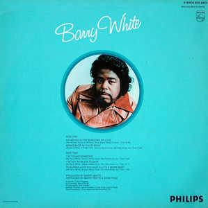 Back Cover Album Barry White - I've Got So Much To Give