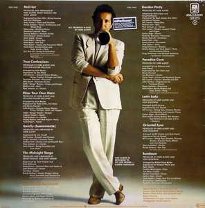 Herb Alpert - Blow Your Own Horn - Back Cover