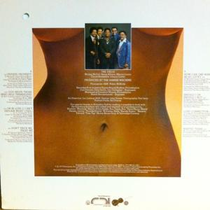 Back Cover Album The Dells - Love Connection