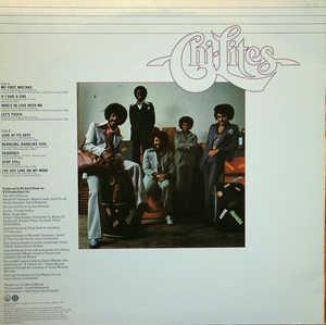 Back Cover Album The Chi-lites - The Fantastic Chi-Lites
