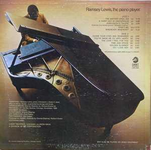 Back Cover Album Ramsey Lewis - Ramsey Lewis: The Piano Player