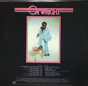 Back Cover Album O.v. Wright - Into Something (Can't Shake Loose)