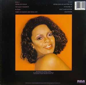 Back Cover Album Thelma Houston - Never Gonna Be Another One
