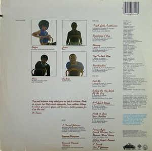Back Cover Album Ohio Players - Tenderness