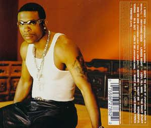 Back Cover Album Keith Sweat - Rebirth