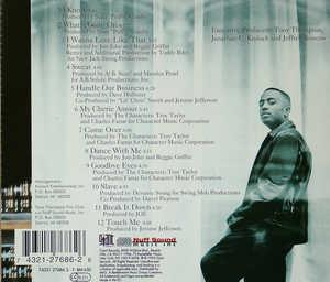 Back Cover Album Tony Thompson - Sexsational