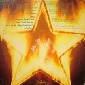 Back Cover Album Maurice Starr - Flaming Starr