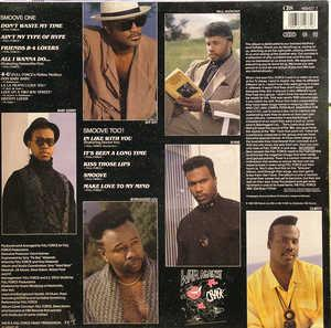 Back Cover Album Full Force - Smoove