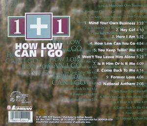 Back Cover Album 1+1 - How Low Can I Go
