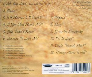 Back Cover Album Renée Diggs - Oasis