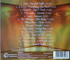 Back Cover Album Kloud 9 - The Vibe Room