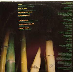 Back Cover Album Grover Washington Jr - Reed Seed