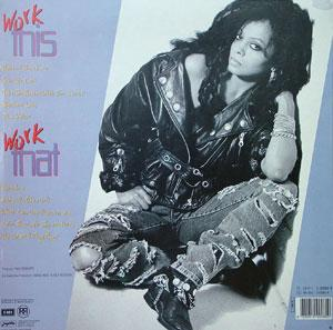 Back Cover Album Diana Ross - Working Overtime