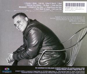 Back Cover Album Israel And New Breed - Real