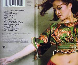 Back Cover Album Pinay - What Now