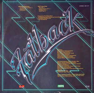Back Cover Album Fatback - Man With The Band