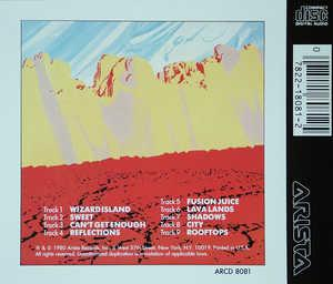 Back Cover Album Jeff Lorber - Wizard Island