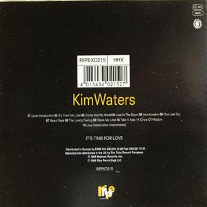 Back Cover Album Kim Waters - It's Time For Love