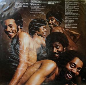 Back Cover Album The Temptations - Bare Back